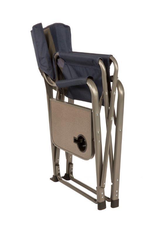 Kamp-Riteu00ae Directoru0026#39;s Chair with Side Table : Kamp-Rite